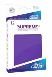 UG: Fundas Supreme UX Color Violeta (80 Unds)