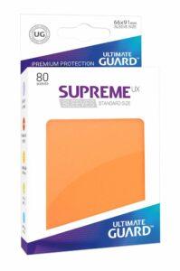 Ultimate Guard Supreme UX Sleeves: Orange (80u)