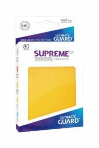 UG: Fundas Supreme UX Color Amarillo (80 Unds)