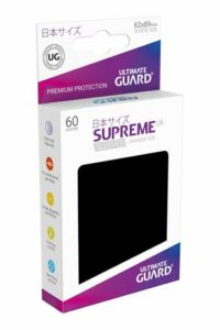 UG: Supreme UX Sleeves Japanese Size Negro (60 Unds)
