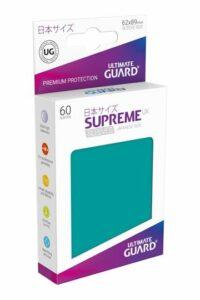 UG: Supreme UX Sleeves Japanese Size Azul Gasolina (60 Unds)