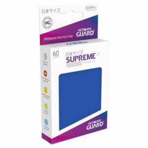 UG: Supreme UX Sleeves Japanese Size Azul (60 Unds)