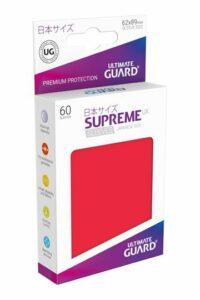 UG: Supreme UX Sleeves Japanese Size Rojo (60 Unds)