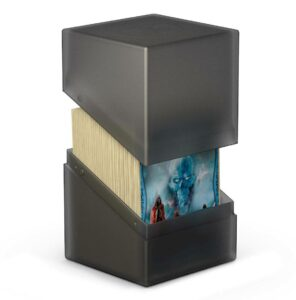 Ultimate Guard Boulder Deck Case 100+ Tamaño Estándar Onyx