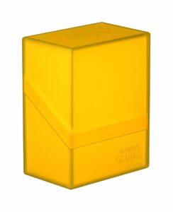 Ultimate Guard: Boulder™ 60+ Deck Case Yellow
