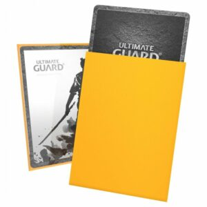Ultimate Guard: Fundas Katana Tamaño Estándar Amalillo (100)