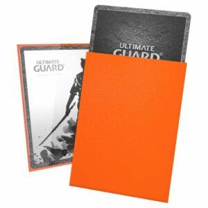 Ultimate Guard: Fundas Katana Tamaño Estándar Naranja (100)