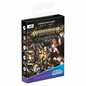 UG: Fundas Warhammer – Champions 'ORDER VS. DEATH
