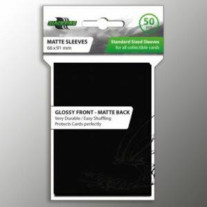 Blackfire: Standard Sleeves – Black (50 Sleeves)