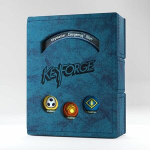 Keyforge: Deck Book (Blue)