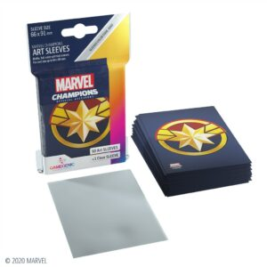 Marvel Champions: Fundas / Sleeves Captain Marvel