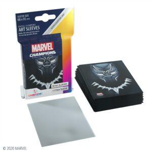 Marvel Champions: Fundas / Sleeves Black Panther