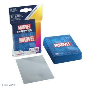 Marvel Champions: Fundas / Sleeves Marvel Blue