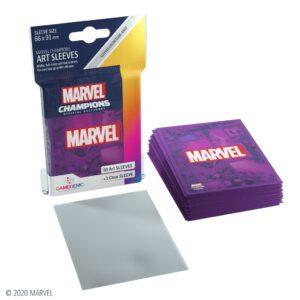 Marvel Champions: Fundas / Sleeves Marvel Purple