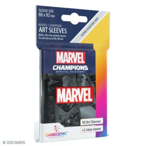 PV 29/10/21 – Marvel Champion Fundas:  Negro