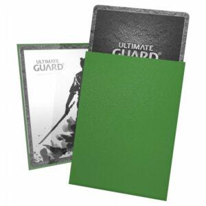 Ultimate Guard: Fundas Katana Tamaño Estándar Verde (100)