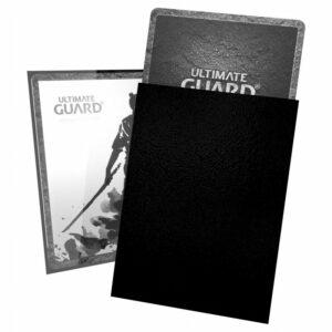 Ultimate Guard: Fundas Katana Tamaño Estándar Negro (100)