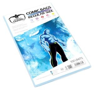 UG: Comic Bags Cierre Reutilizable Regular Size (100)
