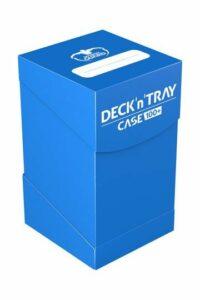UG: Deck´n´Tray Case 100+ Caja De Cartas Estándar Azul Real