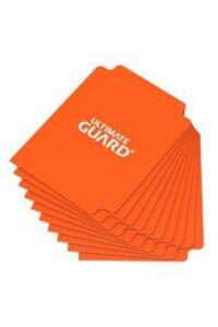 UG: Card Dividers Tamaño Estándar Naranja (10)