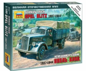 1:100 German 3t Truck  ZVE6126