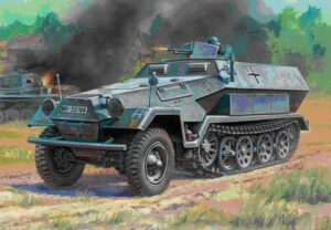 1:100 Sd.Kfz.251/1 Ausf.B  ZVE6127
