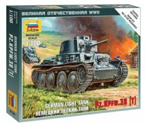 1:100 German 38t Tank  ZVE6130