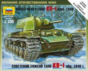 1:100 Soviet Heavy Tank KV-1  ZVE6141