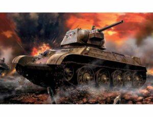 1:100 Soviet Medium Tank T-34/76 Mod 1942   ZVE6159