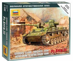 1:100 Panzer III Flamethrower Tank  ZVE6162