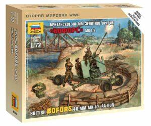 1:72 British Bofors 40 Mm Mk-2 AA  ZVE6170