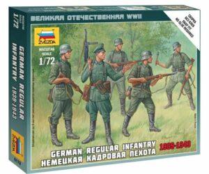 1:72 German Regular Infantry 1939-43  ZVE6178