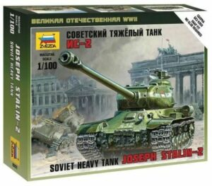1:100 IS-2 Stalin WWII  ZVE6201