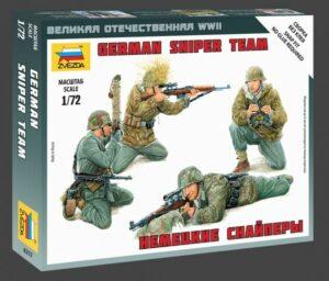 1:72 German Sniper Team WWII  ZVE6217