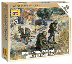 1:72 British Engineers WWII  ZVE6219