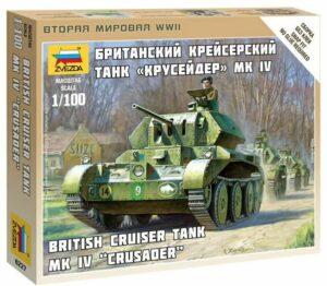 1:100 British Tank Crusader Mk.IV  ZVE6227
