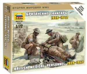 1:72 British Medical Team WWII  ZVE6228