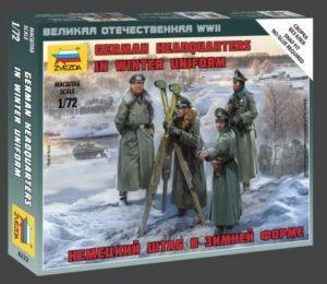 1:72 German HQ Winter WWII  ZVE6232