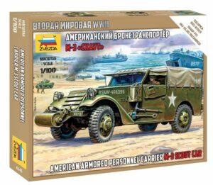 1:100 M-3 Scout Car  ZVE6245