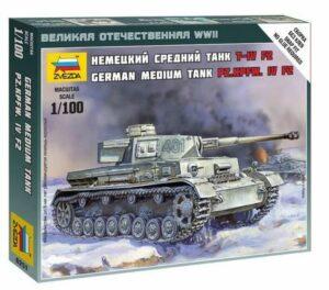 1:100 Panzer IV Ausf H Long Gun  ZVE6251