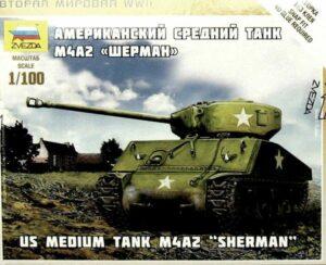 1:100 US-Medium Tank M4A2 Sherman  ZVE6263