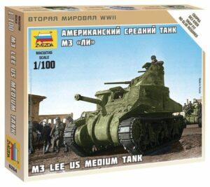 "1:100 US Medium Tank M-3 ""Lee""  ZVE6264"