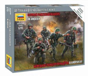 1:100 German Panzergrenadiers  ZVE6270