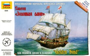 1:350 Zvezda: Sir Francis Drake's Flagship Golden Hind