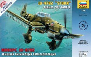 "1:72 Zvezda 7306 Junkers Ju-87B2 ""STUKA"""