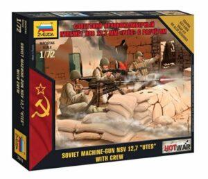 """1:72 Soviet Machine Gun """"UTES""""  ZVE7411"""