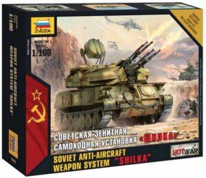 1:100 Shilka AA Tank ZVE7419