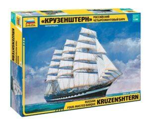 "1:200 Zvezda: ""Krusenstern"" Sailing Ship"