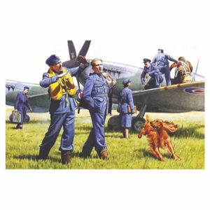 1:48 ICM RAF Pilots And Ground Personnel (19) (48081)