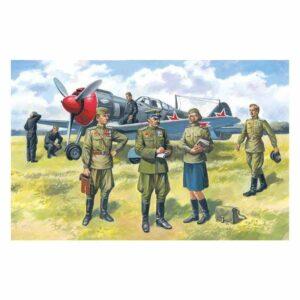 1:48 ICM: Soviet Air Force Pilots & Ground Personnel 48084